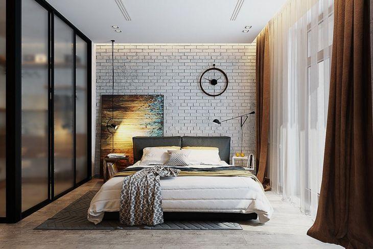 Brick Wall Bedroom Design Ideas Source interior design s appspot com