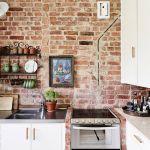 Brick Wall Kitchen Ideas