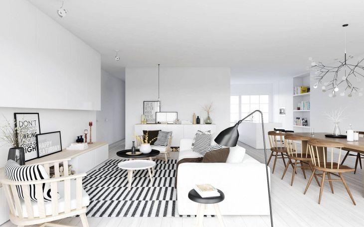 Minimalist Home Design with Monochrome Style 02