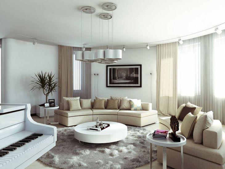 Modern Circle Living Room Table architectureartdesigns com