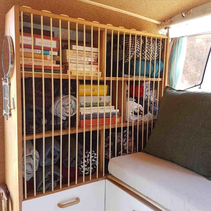 Simple RV Camper Storage Design Source: gcesko com