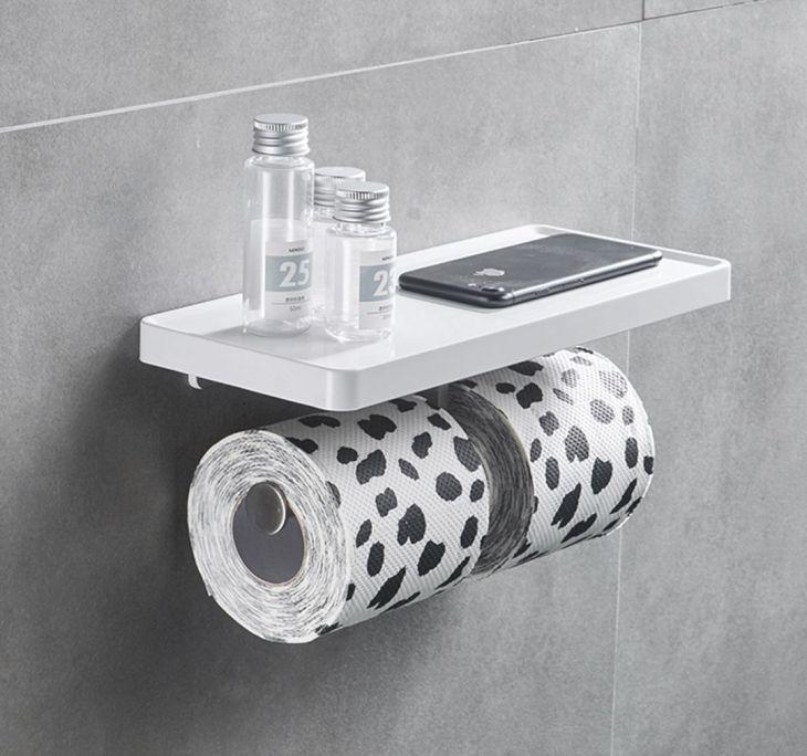 Toilet Tissue Hanger Ideas