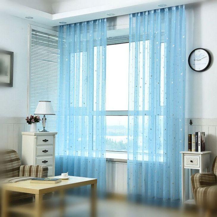 Transparent and Modern Curtains Source aliexpress com