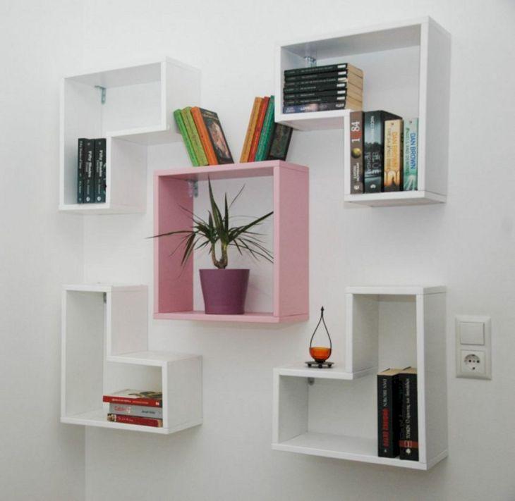 Unique Bookshelves Floating source whenimanoldman com