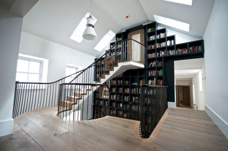 Unique Bookshelves and Stairs source stopqatarnow com