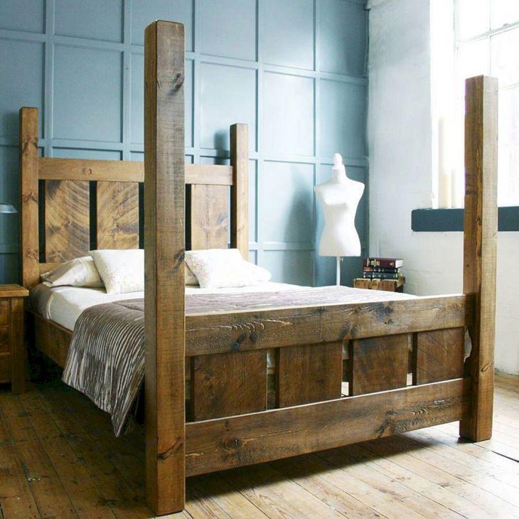 Wooden Bed Frame Source ah studio com