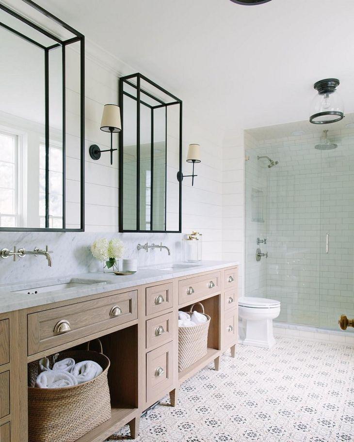Coastal Tiny Bathroom Design