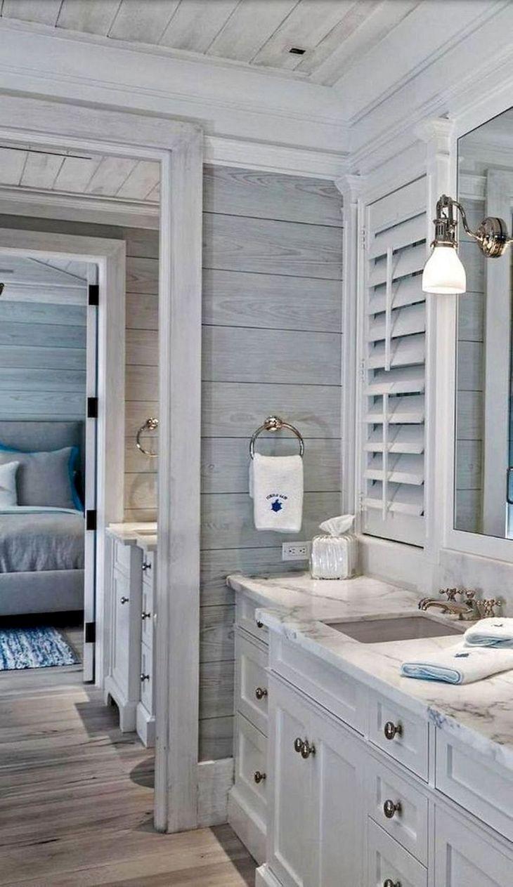 Coastal Tiny Bathroom