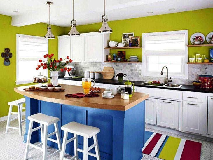 Color Kitchen Island Ideas