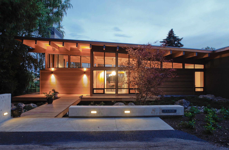 Oregon Wooden Home Design Ideas