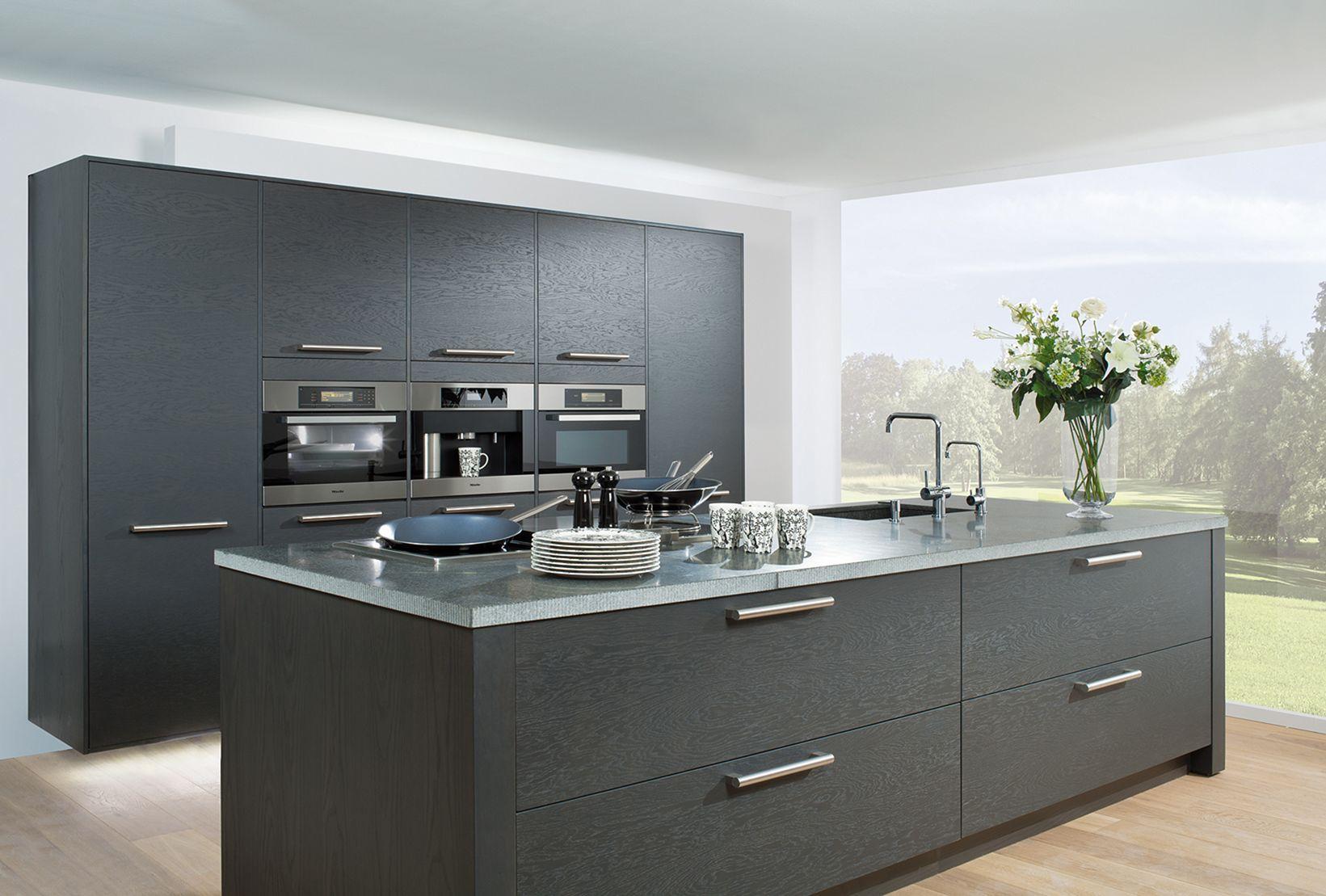 Grey Kitchen Design Idea