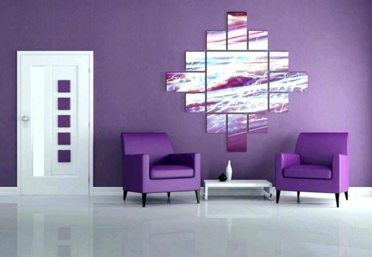 Home Design With Purple Paint Color
