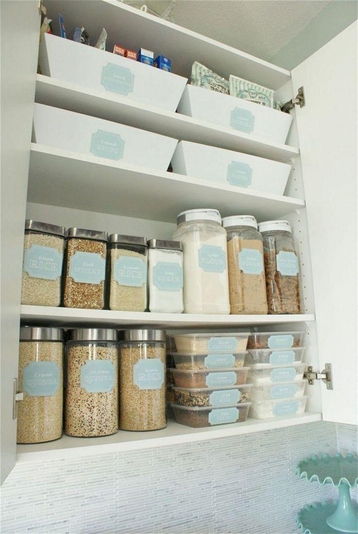 Home Storage Design With Label
