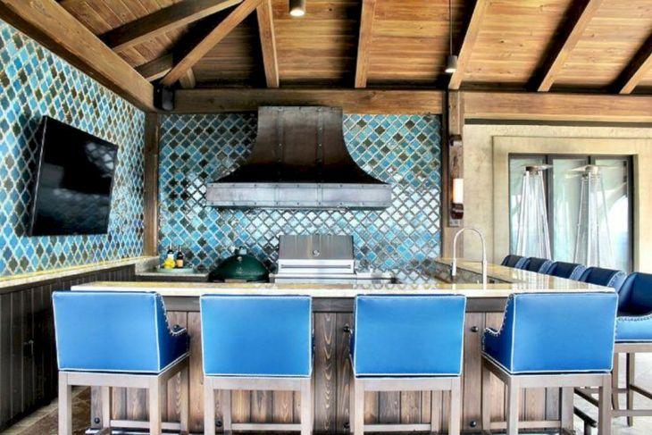 Mediterranian Outdoor Kitchen