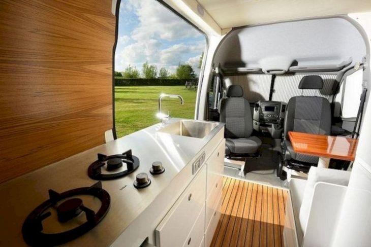 Modern RV Camper Interior