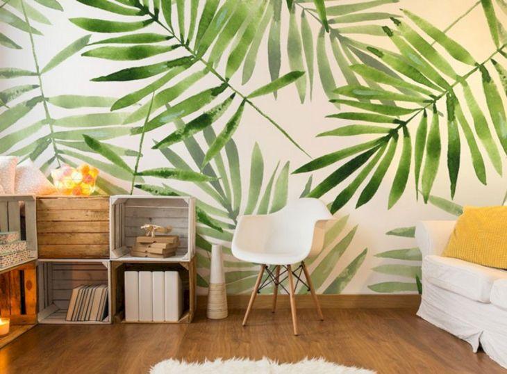 Tropical Calm Wall Ideas