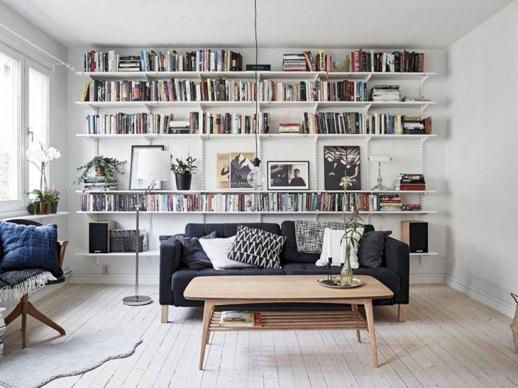 Vintage Wall Bookscase
