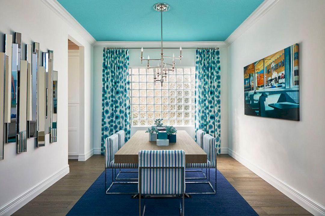 Light Blue Paint Ceiling Design Ideas