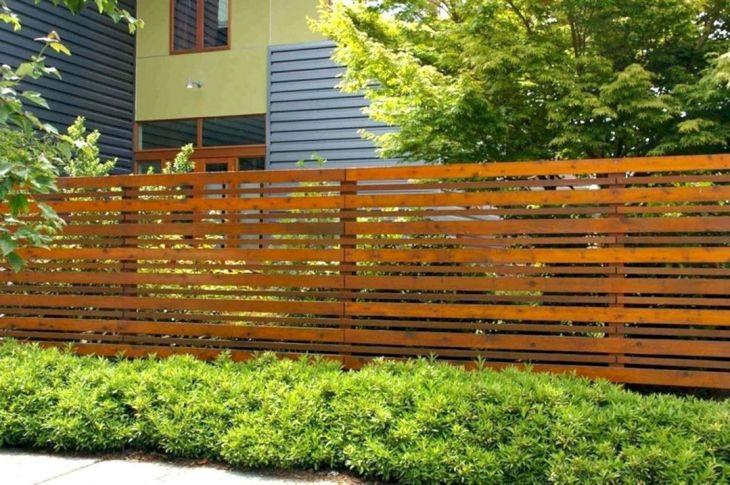 Modern Backyard Fence Ideas