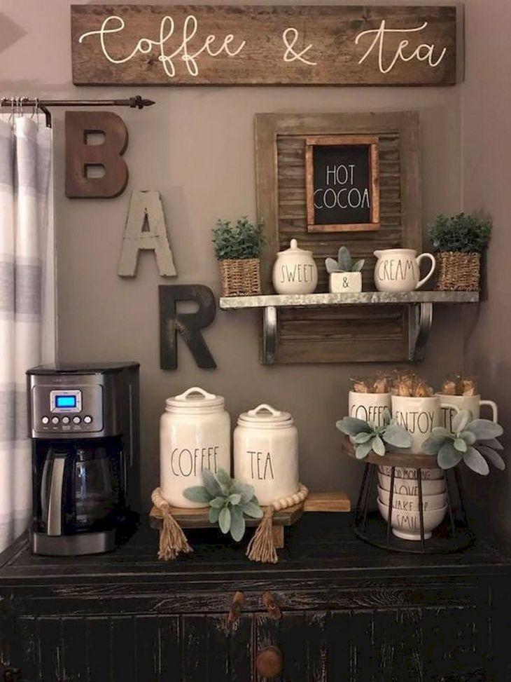 Amazing Home Mini Coffee Bar Ideas