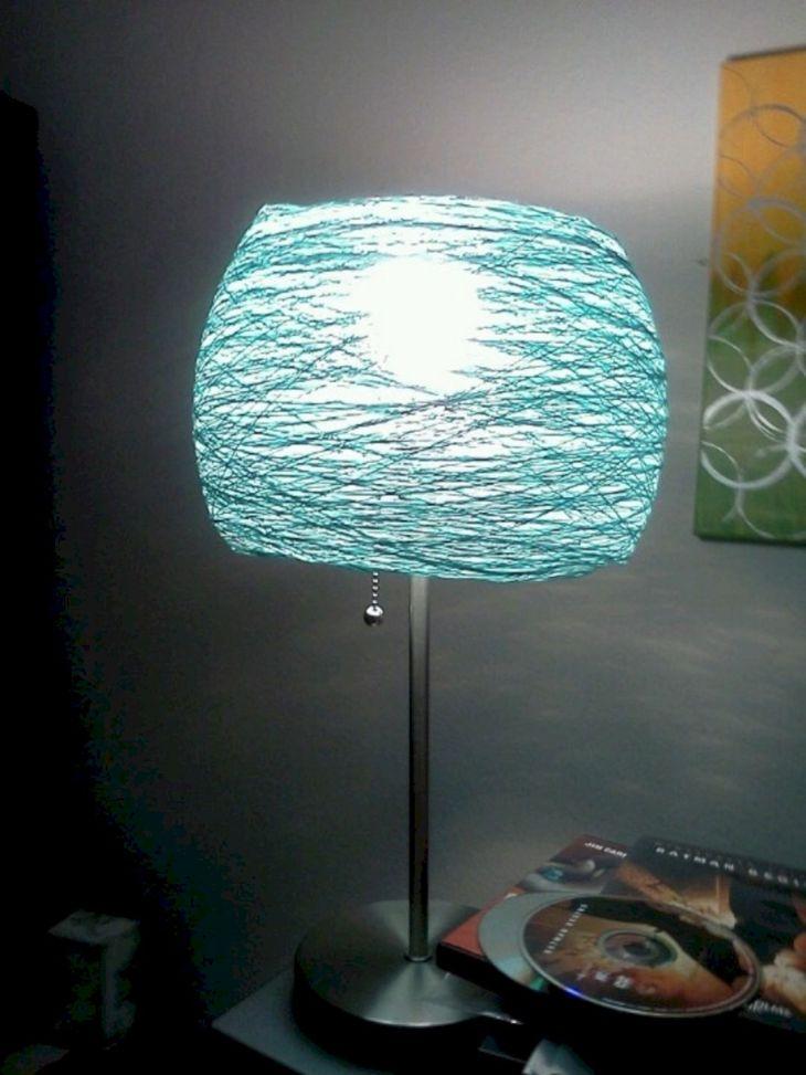 Cool DIY Lamp Shades Ideas
