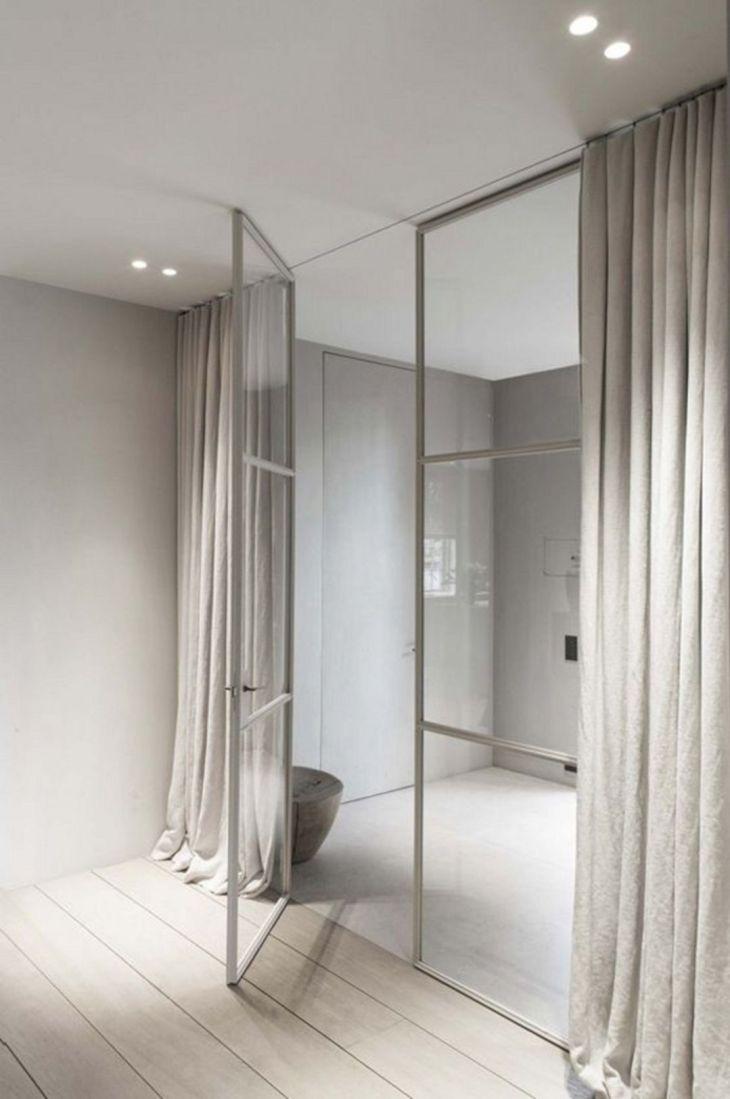 Modern Curtain With Hidden Rail Ideas