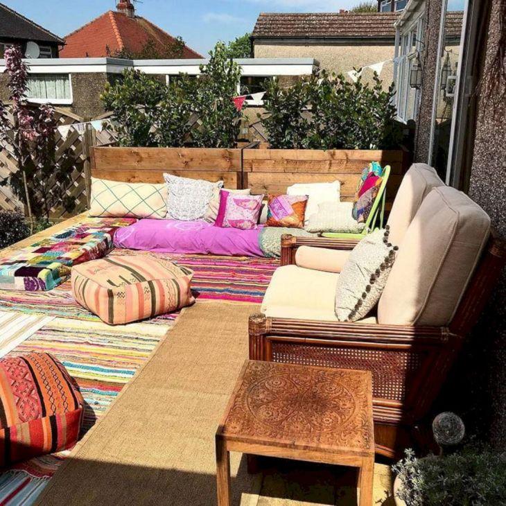 Backyard Bohemian Garden Ideas