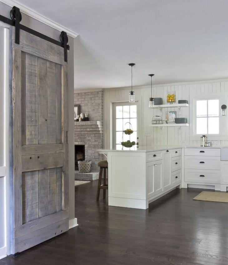 Bassement Barn Door Design