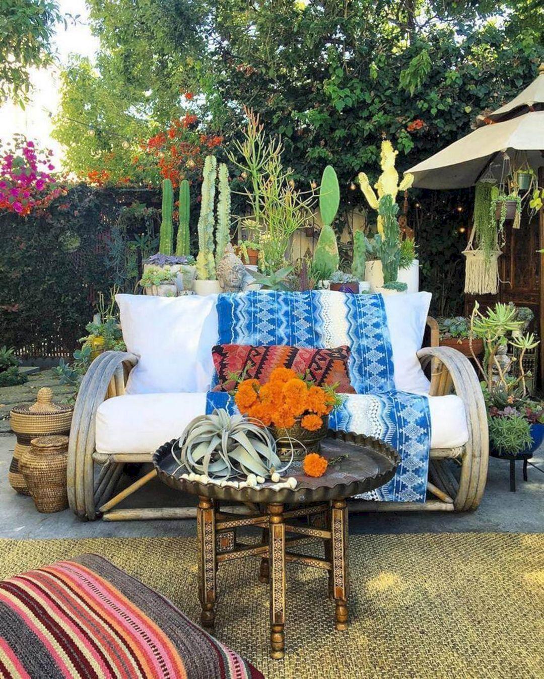 Bohemian Garden Design Ideas