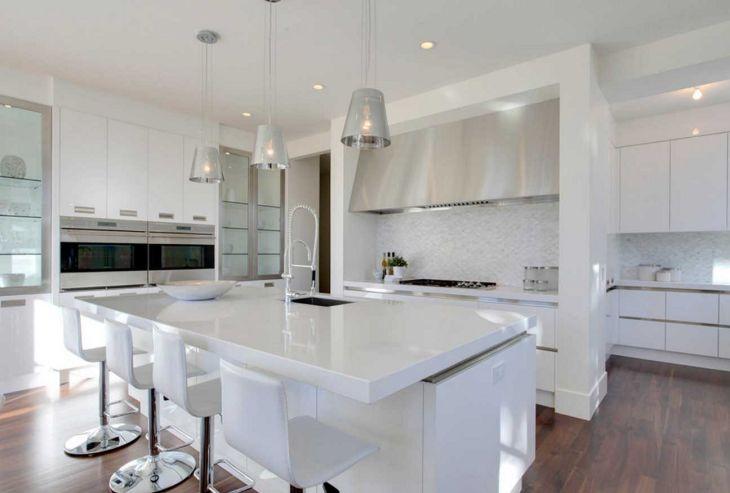 Amazing White Kitchen Design