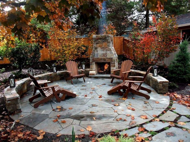 Autumn Backyard Patio Ideas