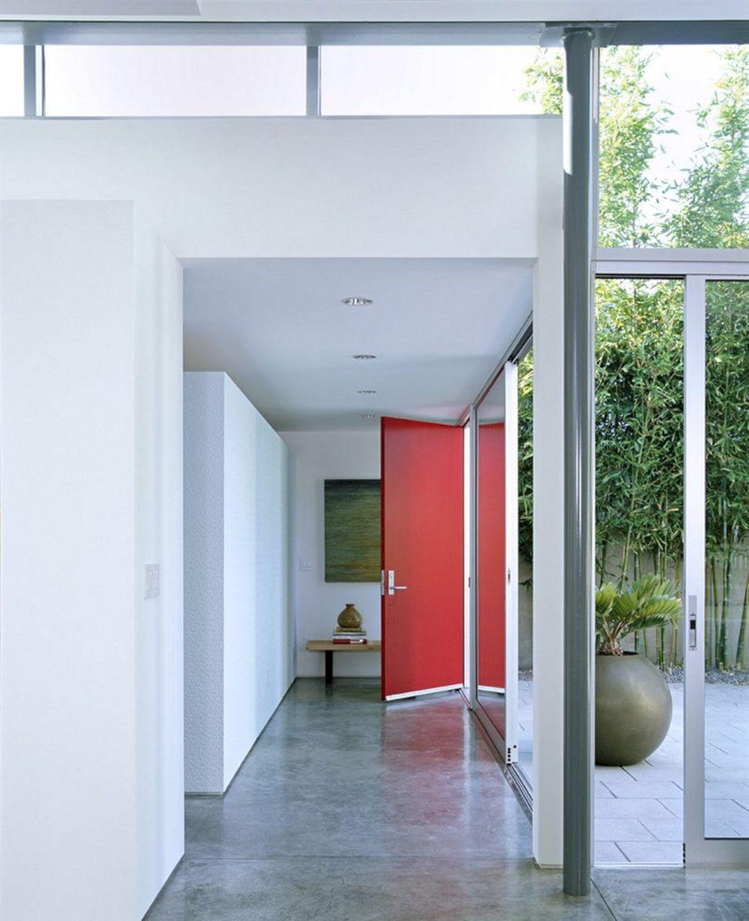 Bright Color Home Door Ideas