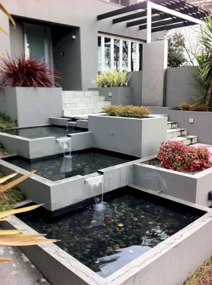 Front Garden Ideas With Fountain