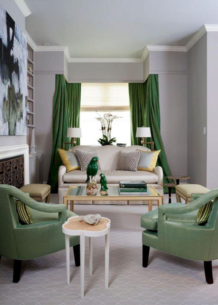 Living Room Green Ideas