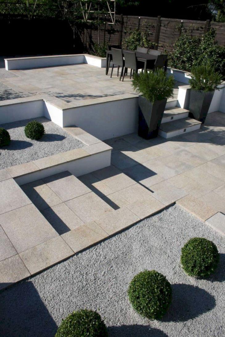 Modern Minimalist Garden Design