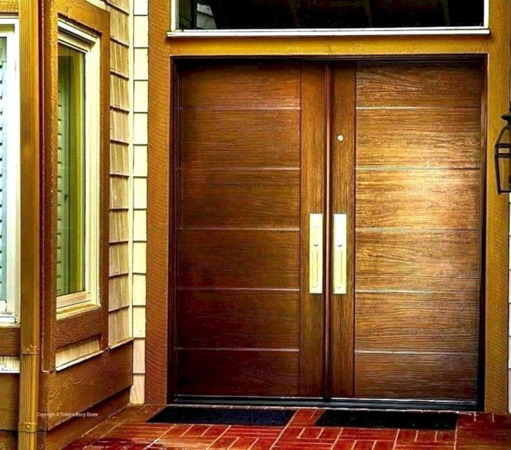 Modern Wood Home Door Ideas
