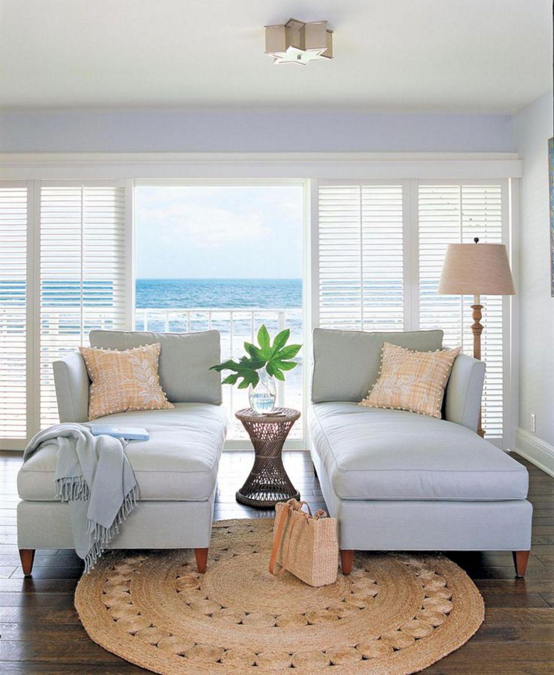 Simple Beach Living Room Ideas
