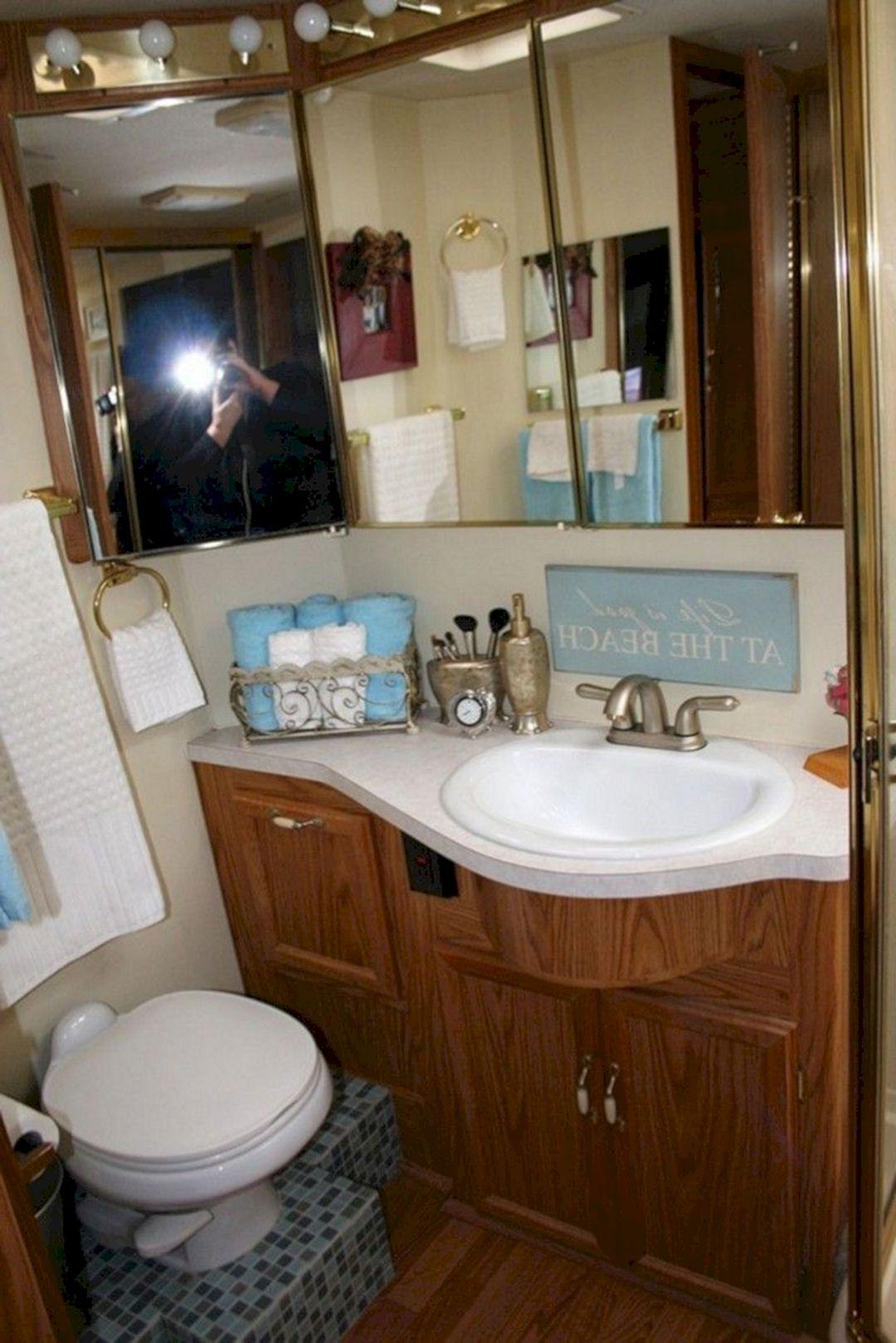 Amazing RV Bathroom Remodel