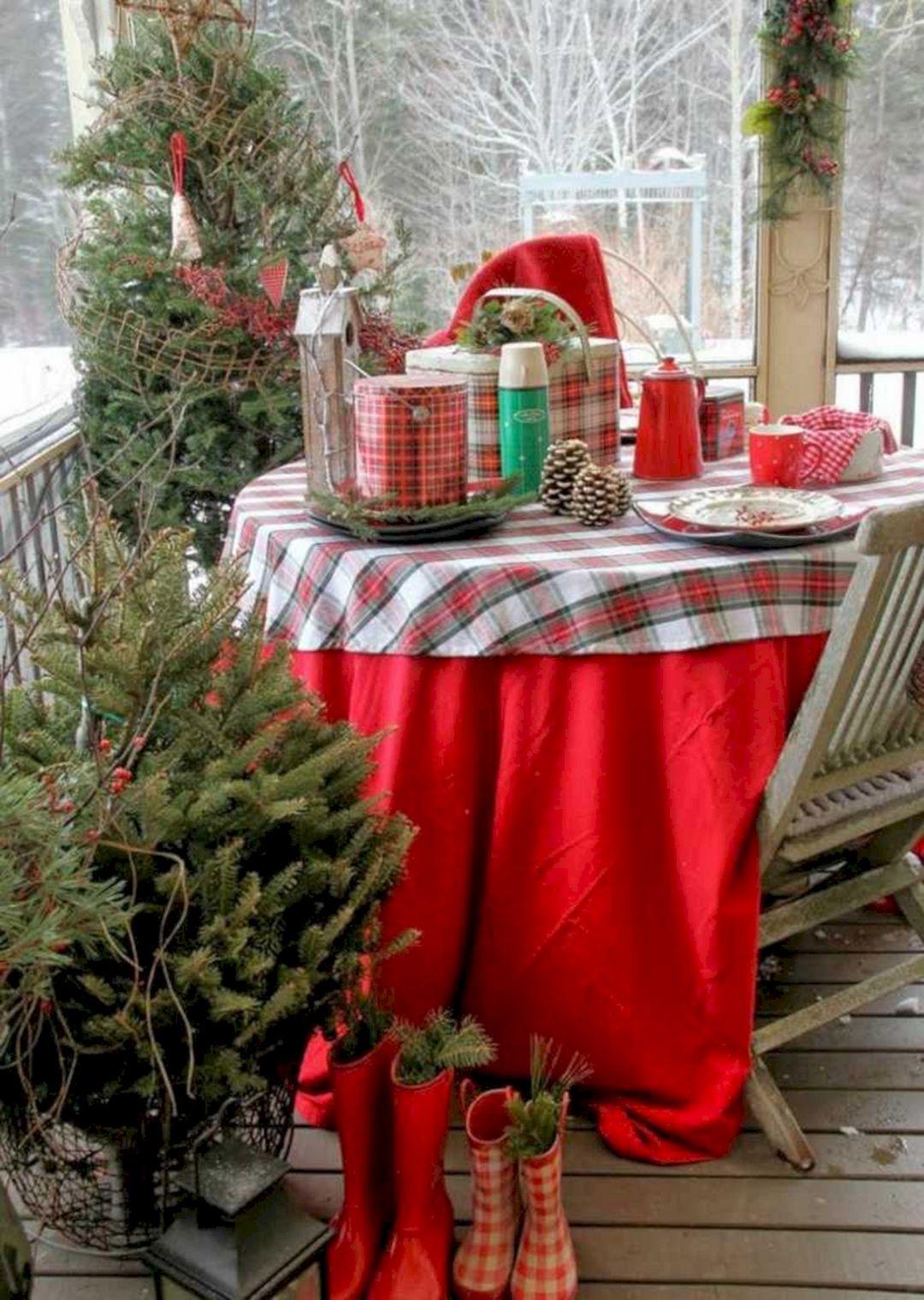 Balcony Christmas Decoration