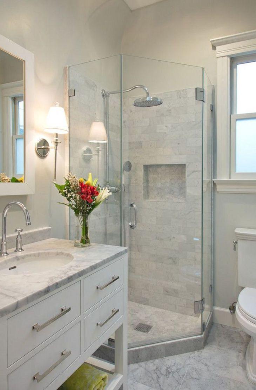 Clever Bathroom Shower Light Ideas