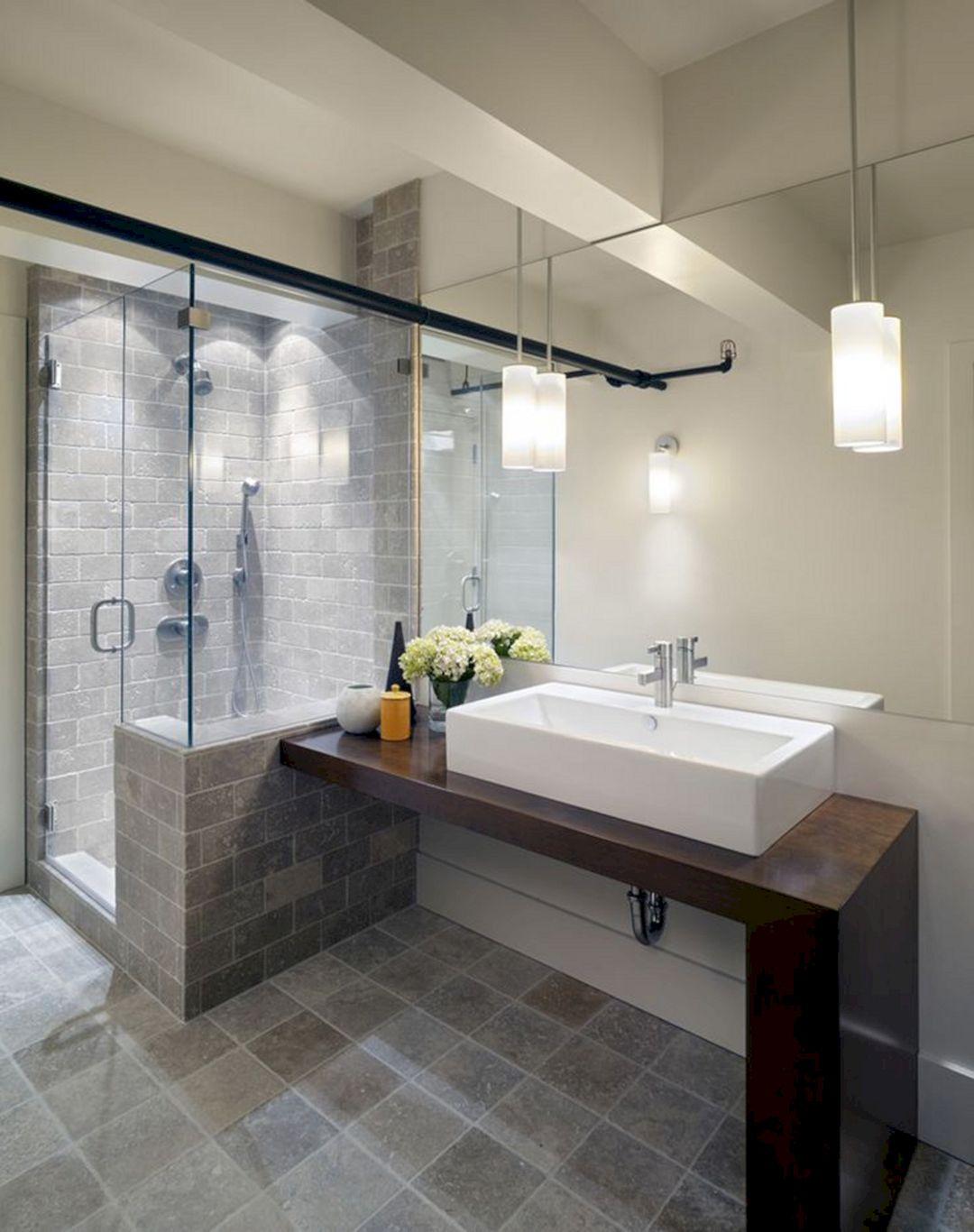 Wonderful Bathroom Shower Light Ideas