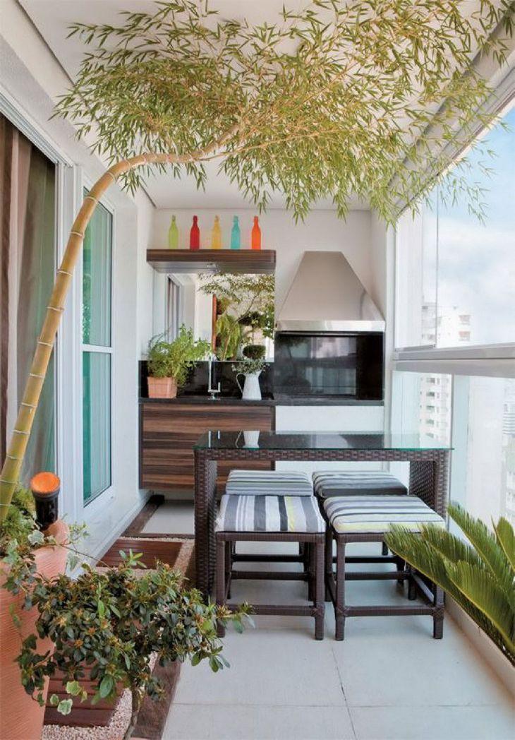 Awesome Apartment Balcony Ideas
