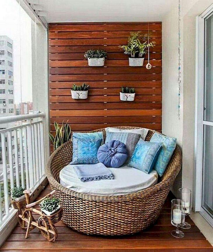 Cozy Small Apartment Balcony Ideas