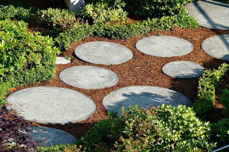 DIY Garden Path And Walkways Ideas