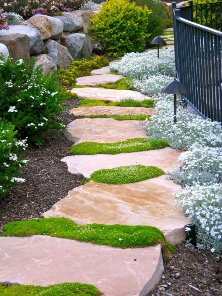 DIY Garden Path Design