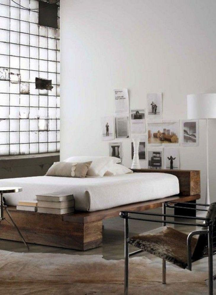 MInimalist Industrial Bedroom Ideas