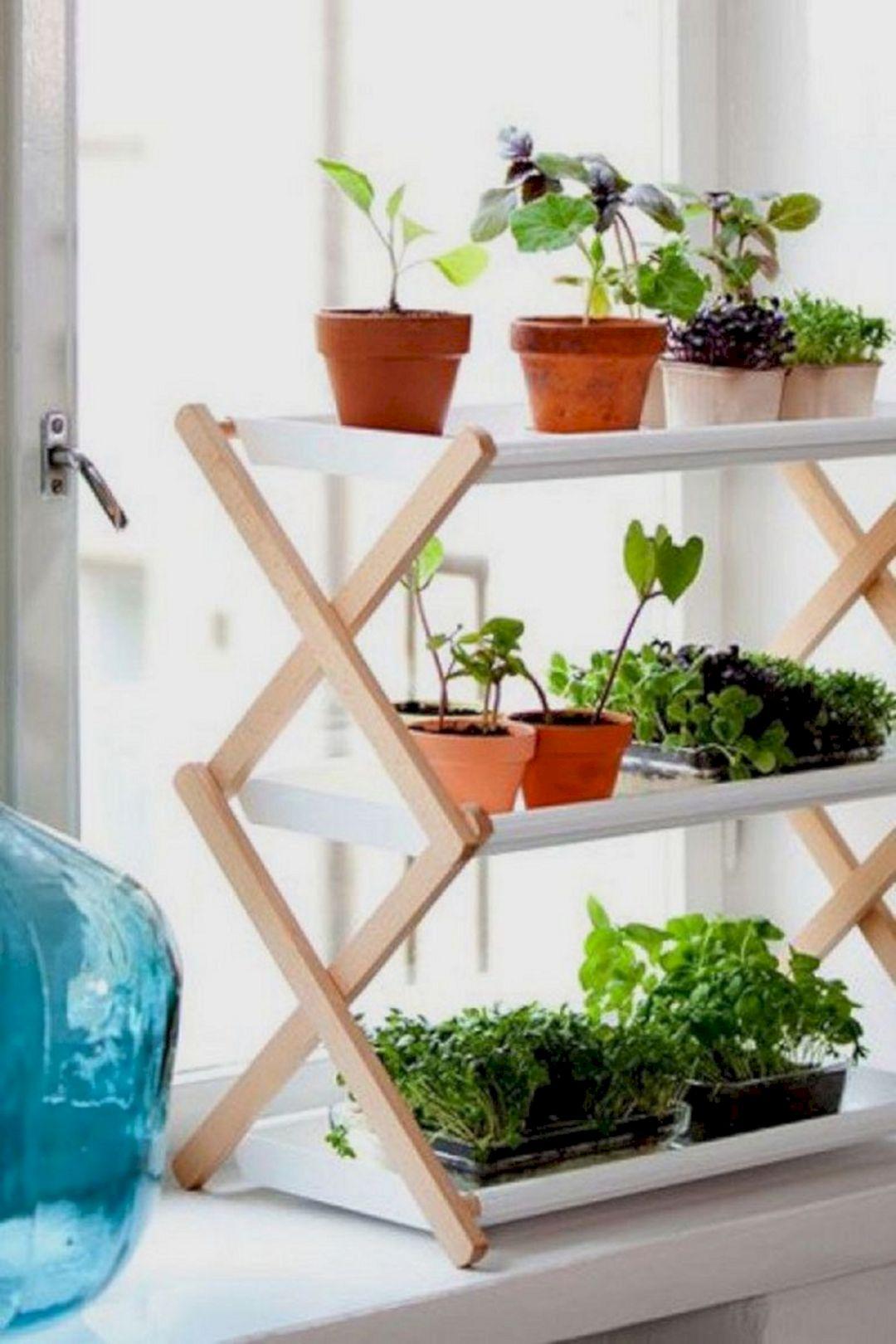 Simple Indoor Vertical Garden