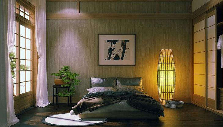 Zen Minimalist Bedroom Design