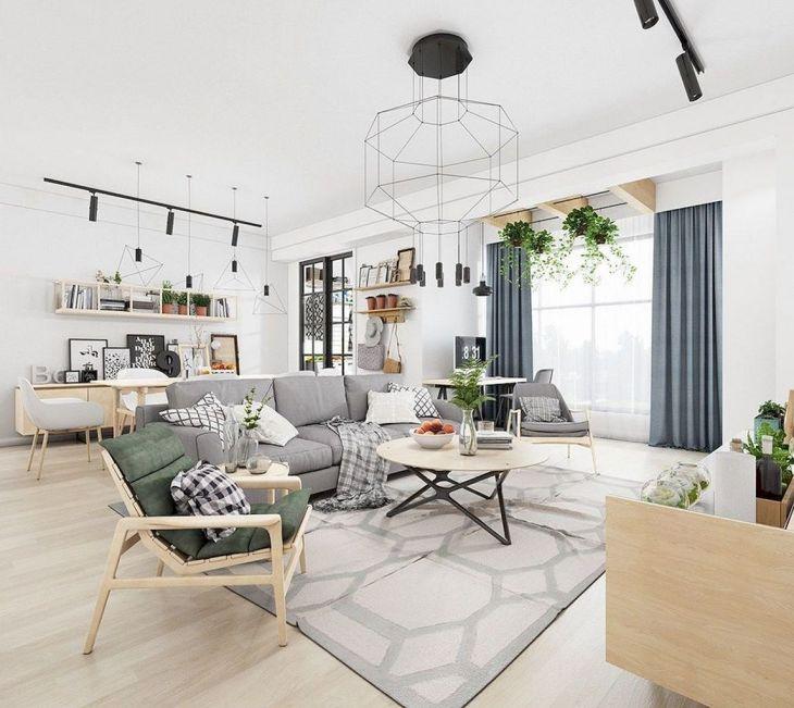 Beautiful Scandinavian Home Interior