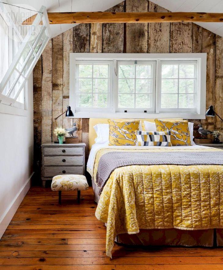 Summer Rustic Bedroom Decoration